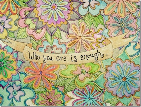 who-you-are-is-enough